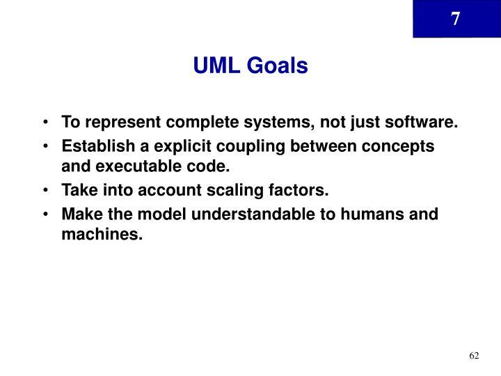 UML Goals