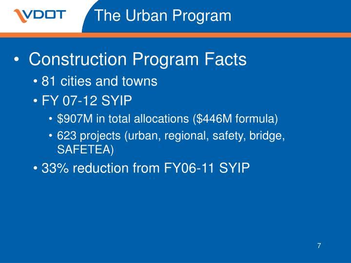 The Urban Program