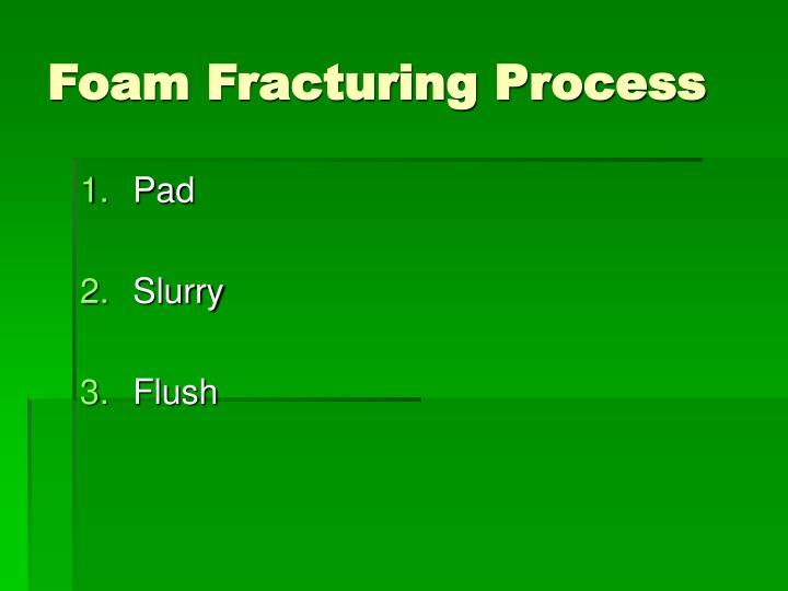 Foam Fracturing Process