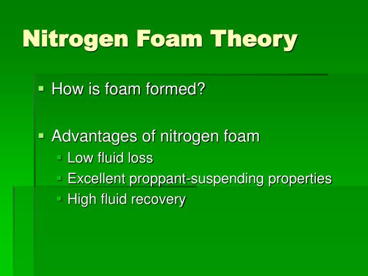 Nitrogen Foam Theory