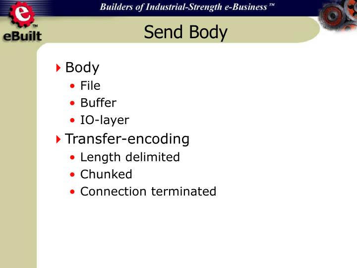 Send Body