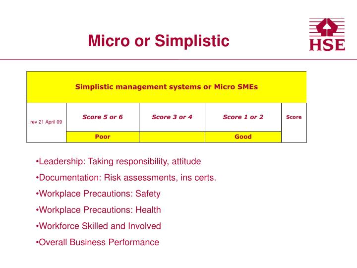 Micro or Simplistic