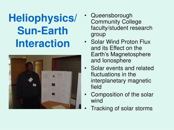 Heliophysics/