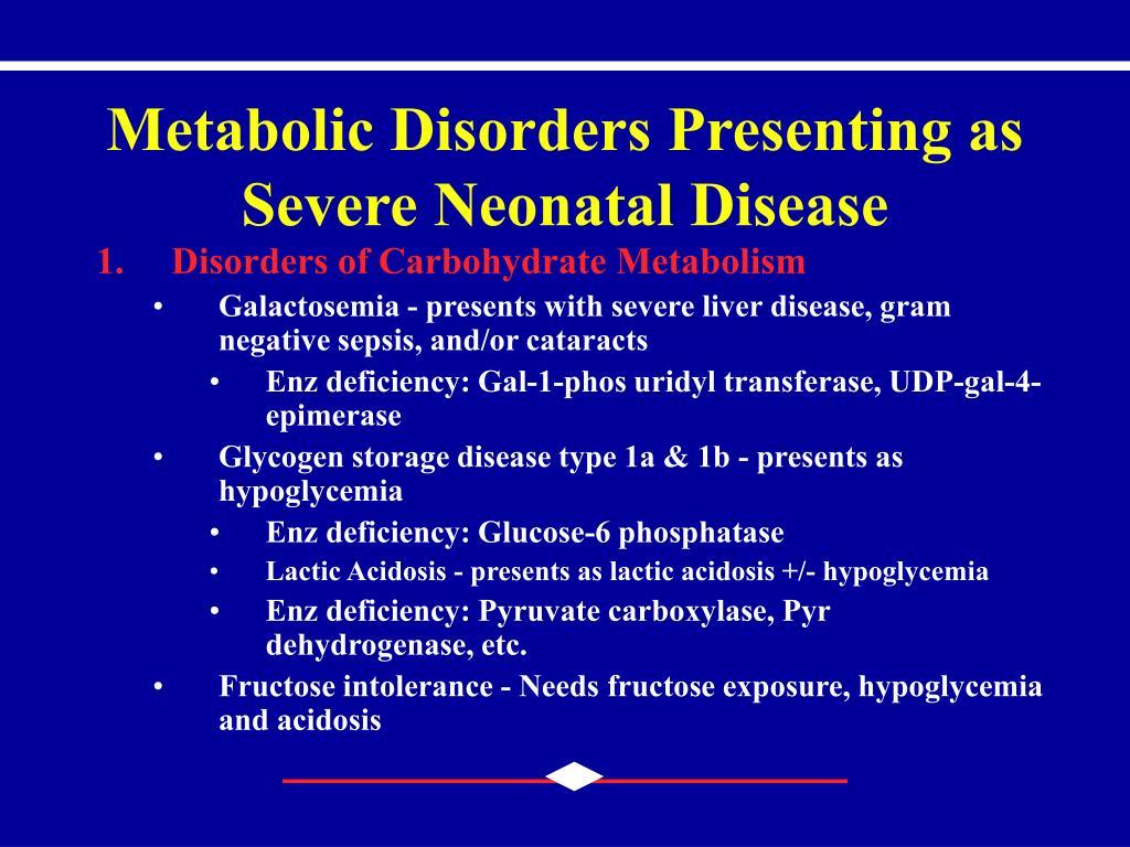 PPT - Inborn Errors of Metabolism PowerPoint Presentation ...