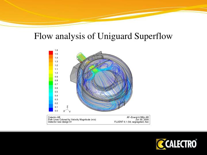 Flow analysis of Uniguard Superflow