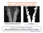 theory experiment and simulation check spur and enrich each other