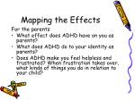 mapping the effects1