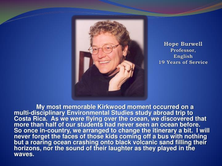 Hope Burwell