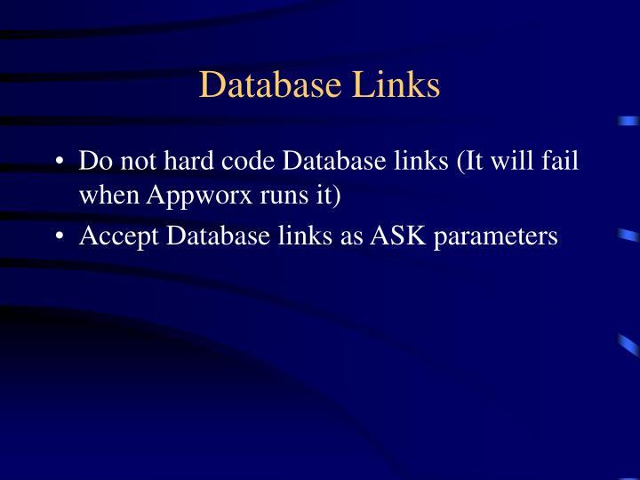 Database Links