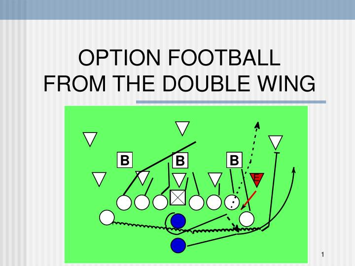 option football from the double wing n.