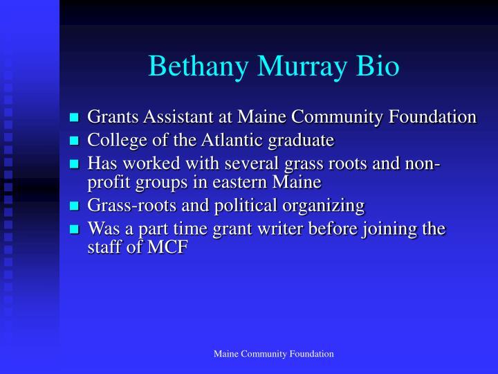 Bethany Murray Bio