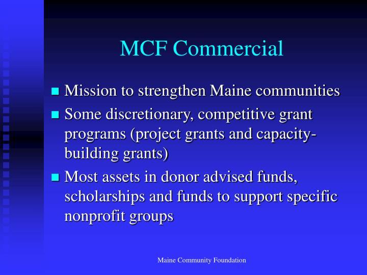 MCF Commercial