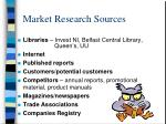 market research sources