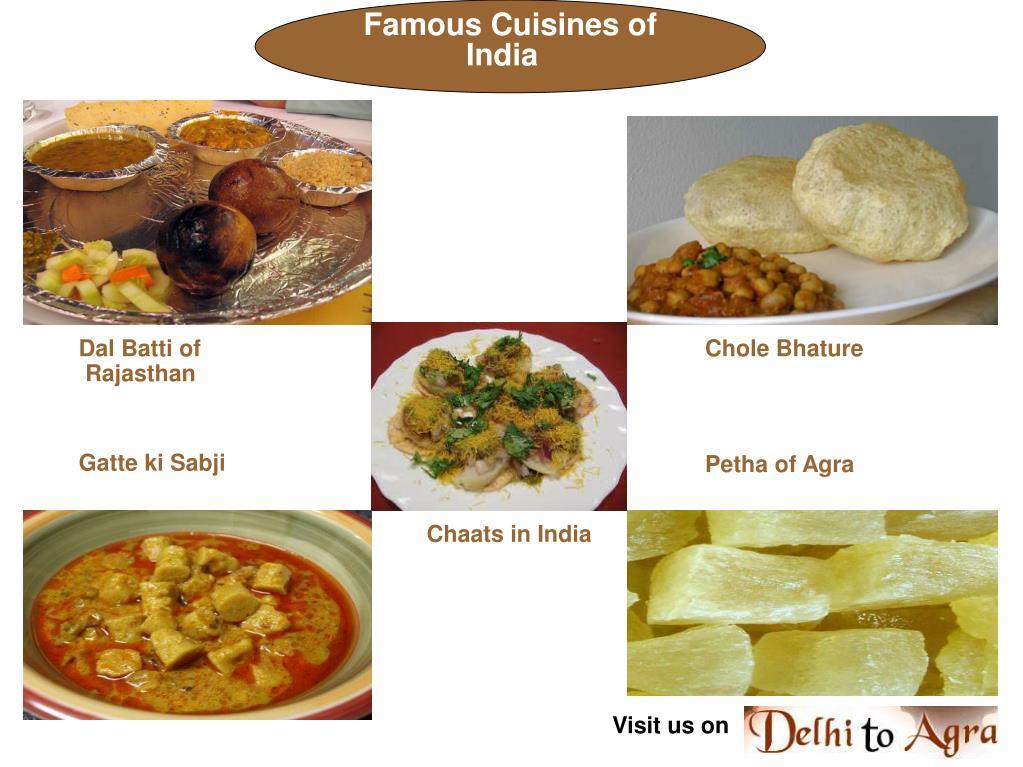 Famous Cuisines of