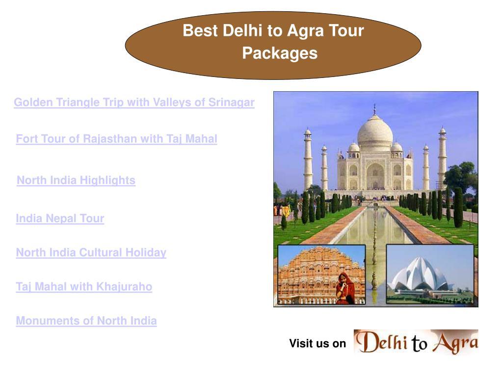 Best Delhi to Agra Tour