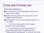 crime and criminal law27