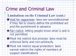 crime and criminal law6