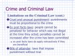 crime and criminal law7