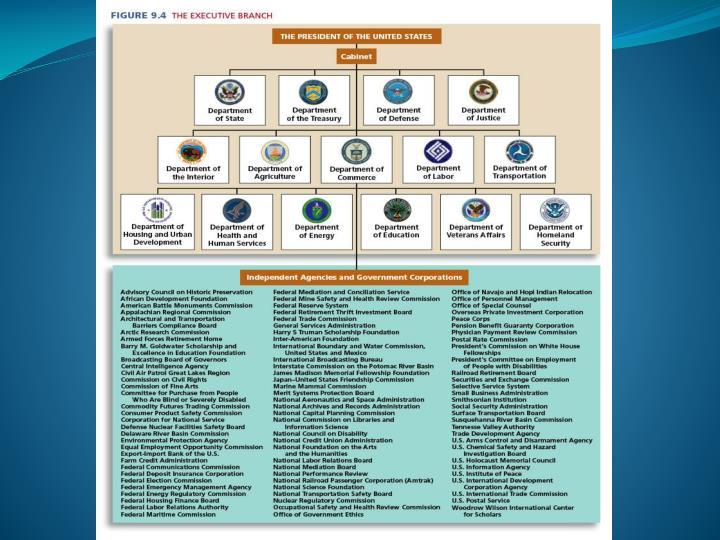 Political institutions the bureaucracy