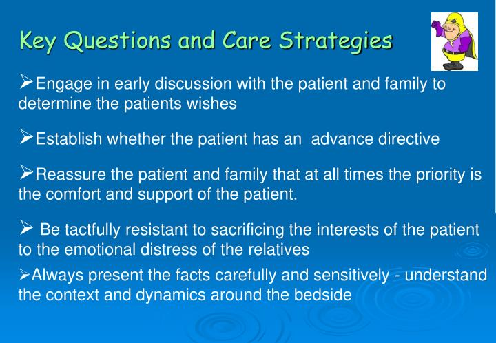 Key Questions and Care Strategies