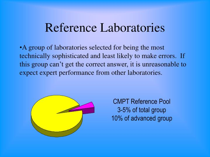 Reference Laboratories