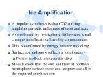 ice amplification