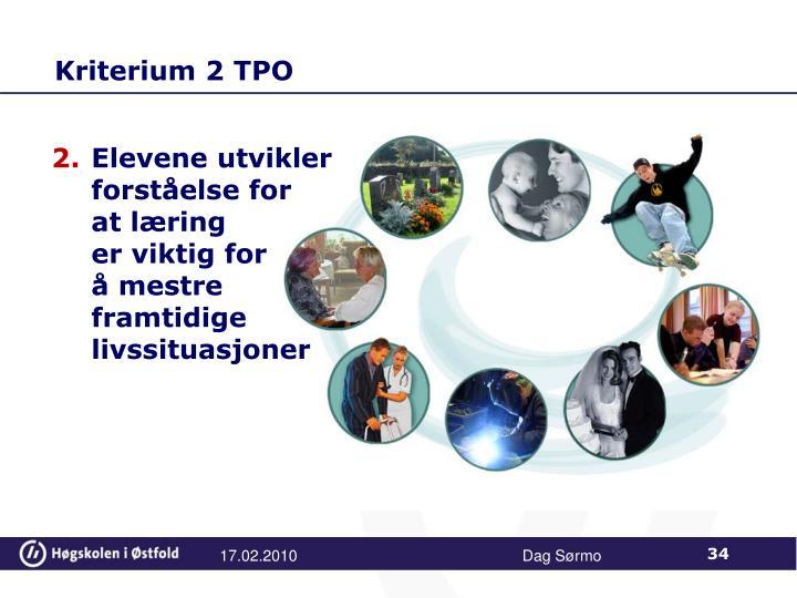 Kriterium 2 TPO