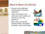 move in move out service
