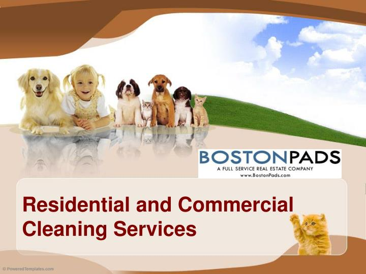 residential and commercial cleaning services n.
