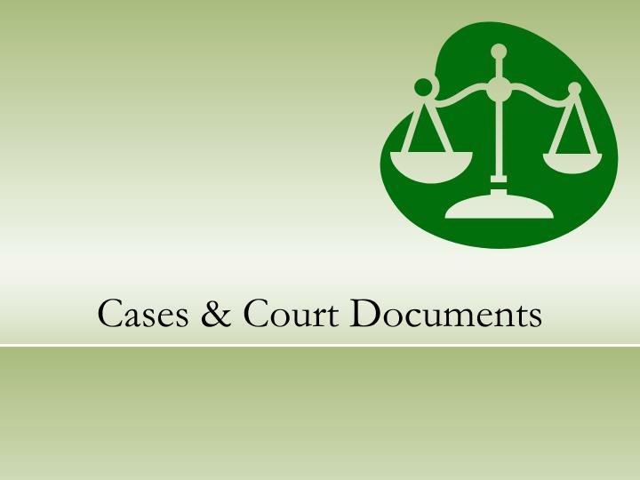 cases court documents n.