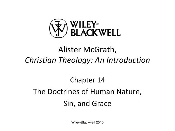 alister mcgrath christian theology an introduction n.
