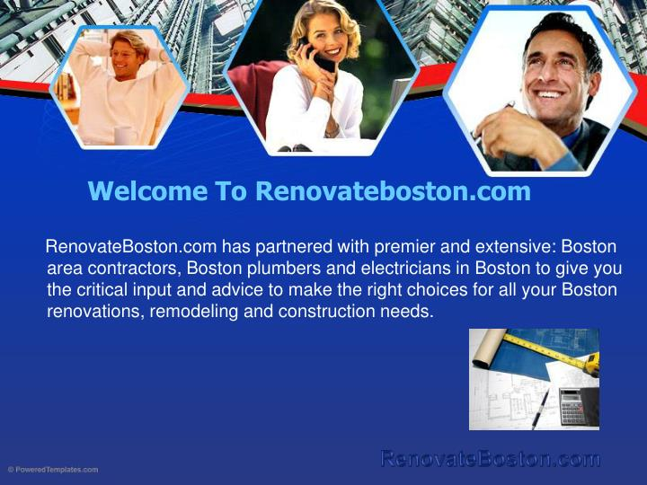 Welcome to renovateboston com