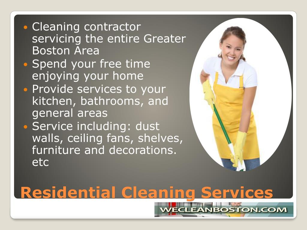 Cleaning contractor servicing the entire Greater Boston Area