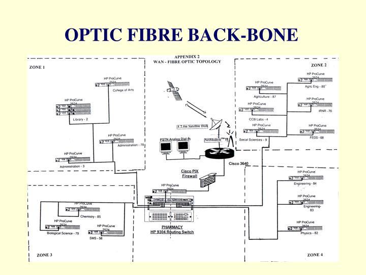 OPTIC FIBRE BACK-BONE