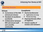 enhancing peer review at nih