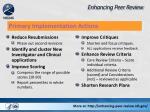 enhancing peer review1
