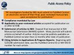 public access policy