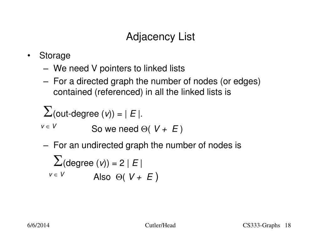 PPT - Graph Theory and Representation PowerPoint