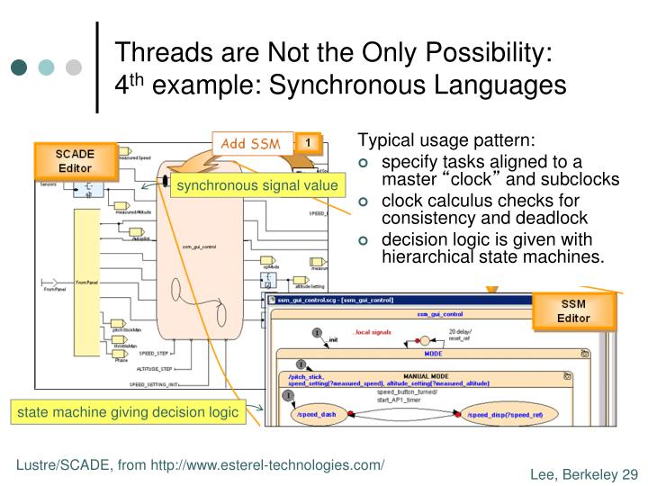 Threads are Not the Only Possibility: