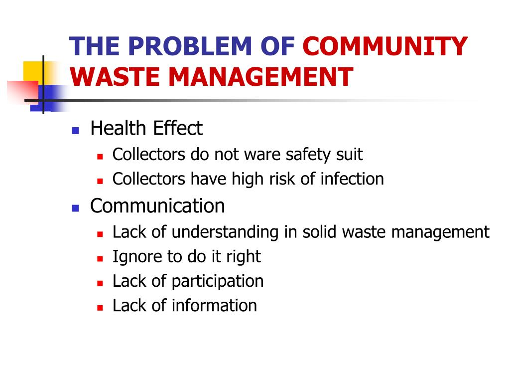 PPT - Solid Waste & Impact PowerPoint Presentation - ID:1291947