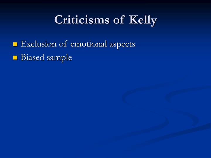 Criticisms of Kelly