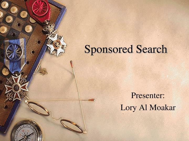 Sponsored search