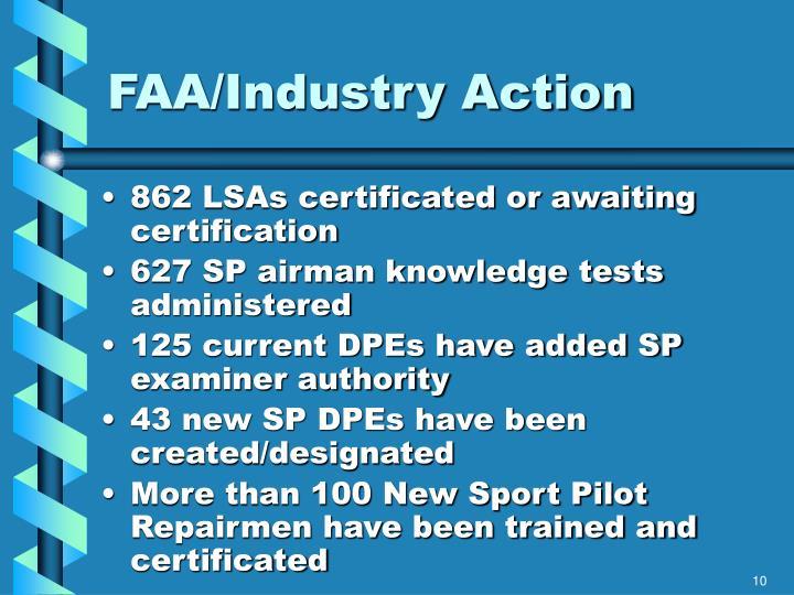 FAA/Industry Action