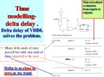 time modelling delta delay delta delay of vhdl solves the problem