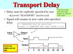 transport delay