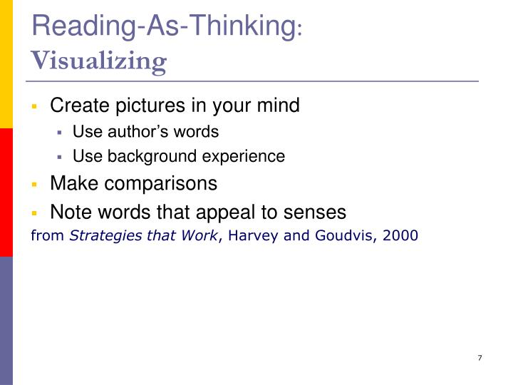 Reading-As-Thinking