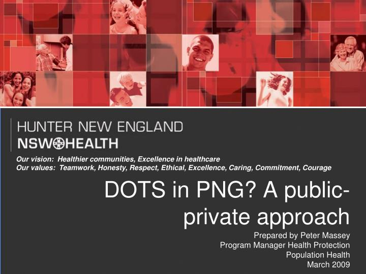 dots in png a public private approach n.