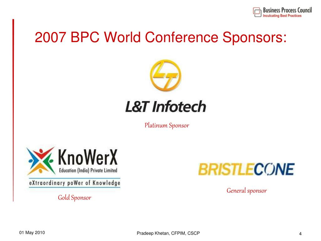 PPT - BPC WORLD CONFERENCE 2007 PowerPoint Presentation - ID