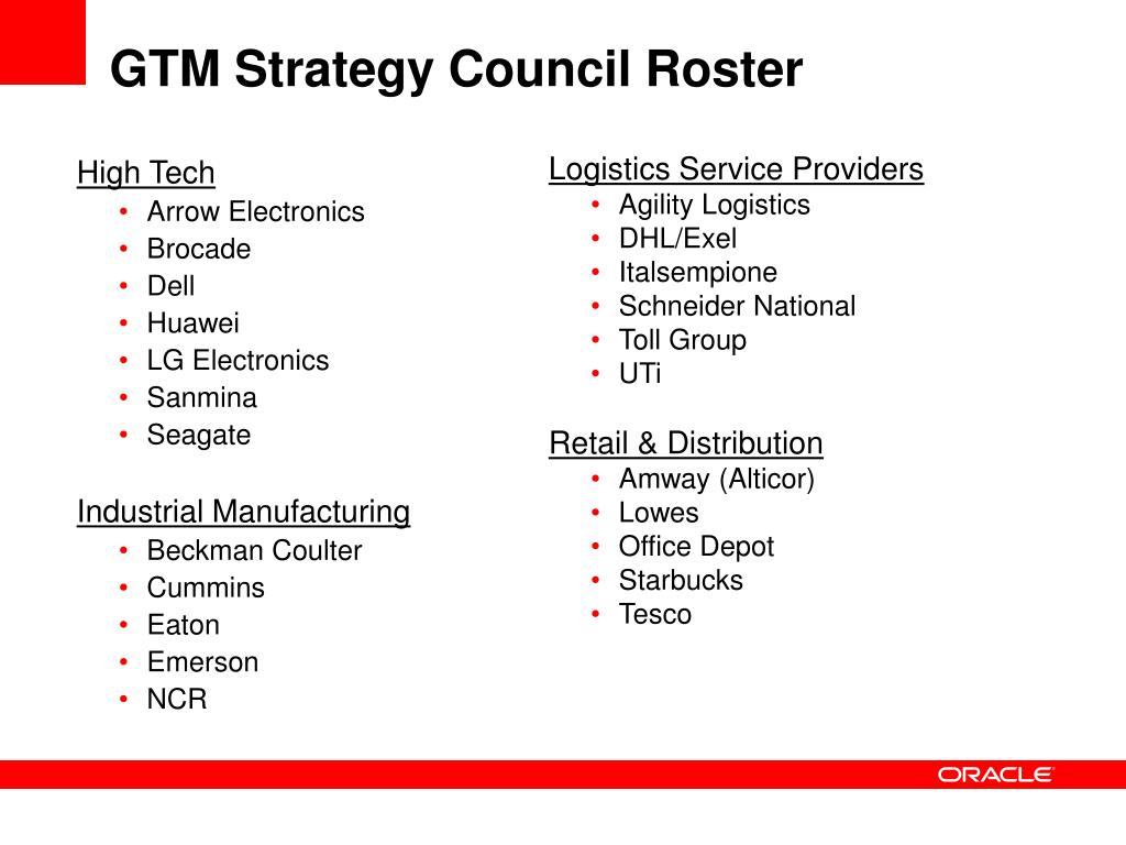 PPT - Oracle Global Trade Management PowerPoint Presentation