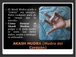 akash mudra mudra del coraz n